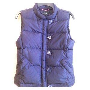 J. Crew women's vest, jacket